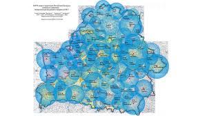 Зона покрытия цифрового телевидения DVB-T/T2 в Беларуси ...