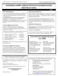 lpn nursing home resume examples cipanewsletter assistant nursing home administrator resume s nursing