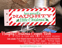 christmas gifts for him her naughty coupon book printable 128270zoom