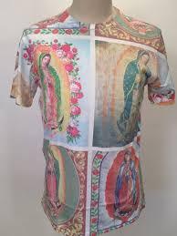 Urban Outfitters <b>Men's T</b>-<b>Shirt</b> Guadalupe Size M <b>NEW</b> Catholic Art ...