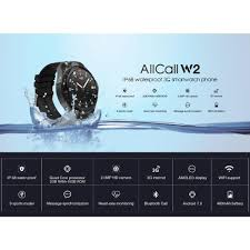 LayOPO AllCall <b>W2 Smartwatch</b>,3G Smartwat- Buy Online in Egypt ...