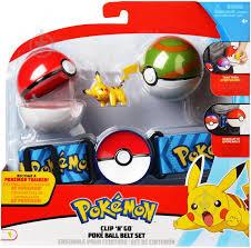 ᐉ Игровой набор <b>Pokemon Пояс</b> с Покеболами Пикачу 96409 ...