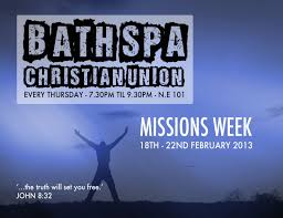 missions week flyers bath spa christian union missions week flyers