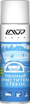 "<b>Пенный очиститель стекол LAVR</b> ""Антистатик"", 650 мл — купить ..."
