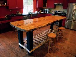 top reclaimed wood kitchen island handmade rustic