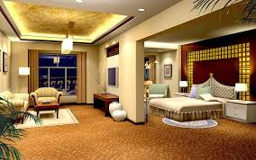 living room with bed: bedroom and living room designs house decor picture