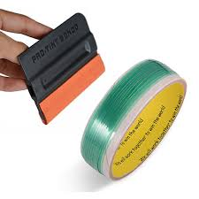 <b>FOSHIO</b> 5Meter Knifeless Tape+Tint Squeegee <b>Vinyl</b> Sticker Cutting ...