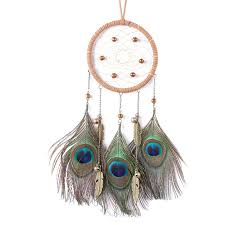 <b>Creative Dreamcatcher</b> Sprayed Silver Beads <b>Indian Dreamcatcher</b> ...