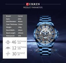 <b>CURREN 8381</b> Blue <b>Quartz</b> Watches Sale, Price & Reviews ...
