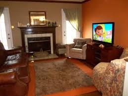 ideas burnt orange: burnt orange and brown living room concept burnt orange and brown living room my mbr has