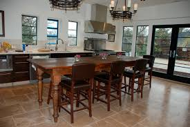 kitchen island with table extension image of kitchen with island design middot image of fantastic kitchen