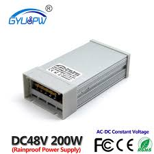 Single Output 48 volt <b>Switching Power Supply DC48V</b> 1.5A 72W led ...