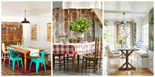 country dining room design cottage photo