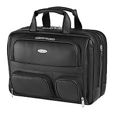 samsonite computer portfolio with 154 laptop black newell office depot