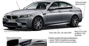BMW выпустит юбилейную версию М5 - Новости - TCH.ua