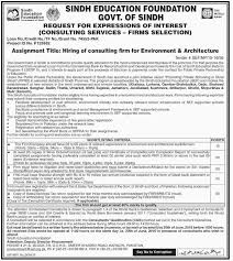 job opportunities in sindh education foundation government of government job opportunities in sindh education foundation government of sindh 2nd 2016