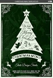 christmas menu template v by lou graphicriver menu template v5 jpg