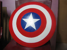 <b>Captain America Shield</b> From Used Satellite Dish: 13 Steps (with ...
