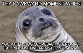 Awkward Moment Sealion Meme - Imgflip via Relatably.com