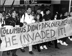 the controversy surrounding columbus day the charnel house