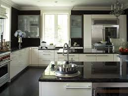 kitchen kitchen colors with white cabinets and black countertops sunroom kitchen transitional medium windows cabinets black color furniture office counter design