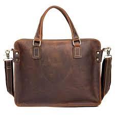 The Viggo Briefcase | <b>Genuine Leather Messenger Bag</b>