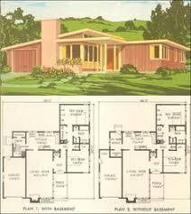 Mid century  House plans and Mid century modern on PinterestMid Century Modern House Plan No    National Plan Service   Retro American