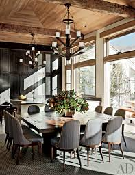 Log Dining Room Tables Dining Table Impressive Rustic Dining Room Design Using Log