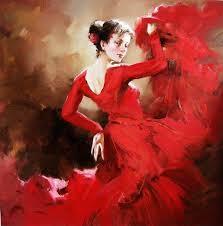 2019 Framed, Impressionism Dance Girl , Large High Quality <b>Pure</b> ...