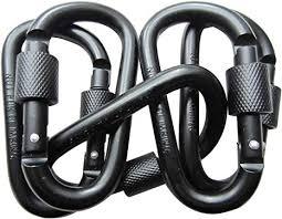 LeBeila <b>5 PCS Carabiner</b> Climbing D Ring Keychain with <b>Clip</b>