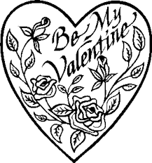 Small Picture valentines day coloring pages hearts printable preschool