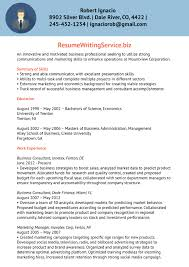business consultant resume sample resume writing service after