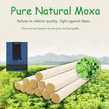 <b>SHARE HO</b> 50:1 Long Pure Moxa Stick Chinese Moxibustion ...
