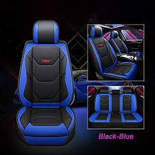 JOJOHON Luxury PU Leather Auto <b>Car Seat</b> Covers <b>5 Seats</b> Full Set
