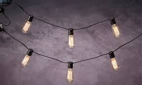 or take your vintage lighting ideas outside with strings of bare edison bulbs theyre the perfect way to mark off a dance floor or eating space bare bulb lighting