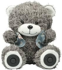 Беспроводная <b>колонка Ritmix ST</b>-<b>250</b> Bear BT, Grey — купить в ...