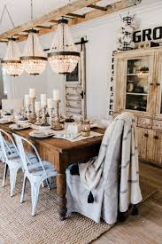 inspired diving room dining