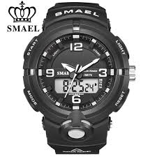 New <b>2020 SMAEL Brand</b> Solar Energy Watch Digital Quartz <b>Men</b> ...
