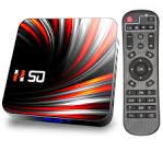 <b>H50 TV Box Android</b> 10 4GB DDR3 32GB 64GB Andriod TV Box 4k ...
