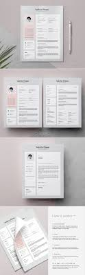 top 25 ideas about resume templates cover resume template 3 page valérie