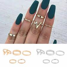 2019 <b>New</b> Arrivals <b>Hot Fashion women's</b> ring Gold Color And Silver ...