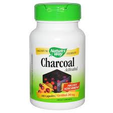 Nature's Way, Charcoal, Activated, 560 <b>mg</b>, 100 Capsules   Vida ...