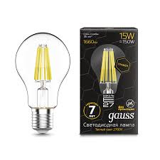 <b>Лампа Gauss LED Filament</b> Graphene A60 E27 15W 2700К - Gauss ...