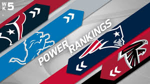 Week 5 Power Rankings | NFL - YouTube