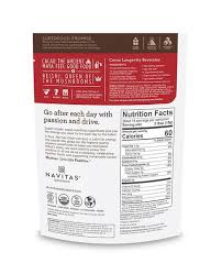 Cacao+ Powder <b>Longevity</b> Blend with <b>Reishi</b> | Navitas Organics