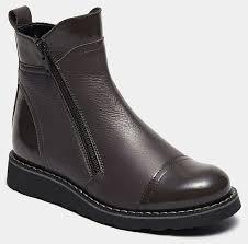 <b>Ботинки BROS</b>-<b>D</b> (цвет серый, натуральная кожа,лак) — купить ...