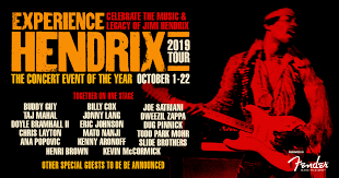2019 <b>Experience Hendrix</b> Tour ∙ The All-Star Concert Event of the Year