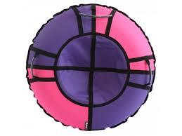 Купить <b>тюбинг Hubster Хайп</b> 80 см, фиолетовый-розовый по цене ...