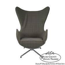 vintage mid century modern egg chair in arne jacobsen design arne jacobsen style alpha shell egg