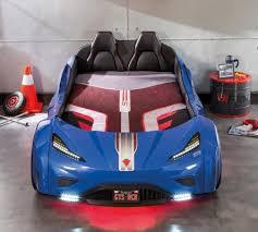 <b>Кровать</b>-<b>машина GTS</b> синяя Carbed 1353 <b>CILEK</b> - купить по цене ...